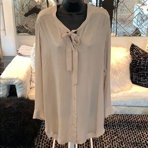 Mason Nude Silk Dress Size 2